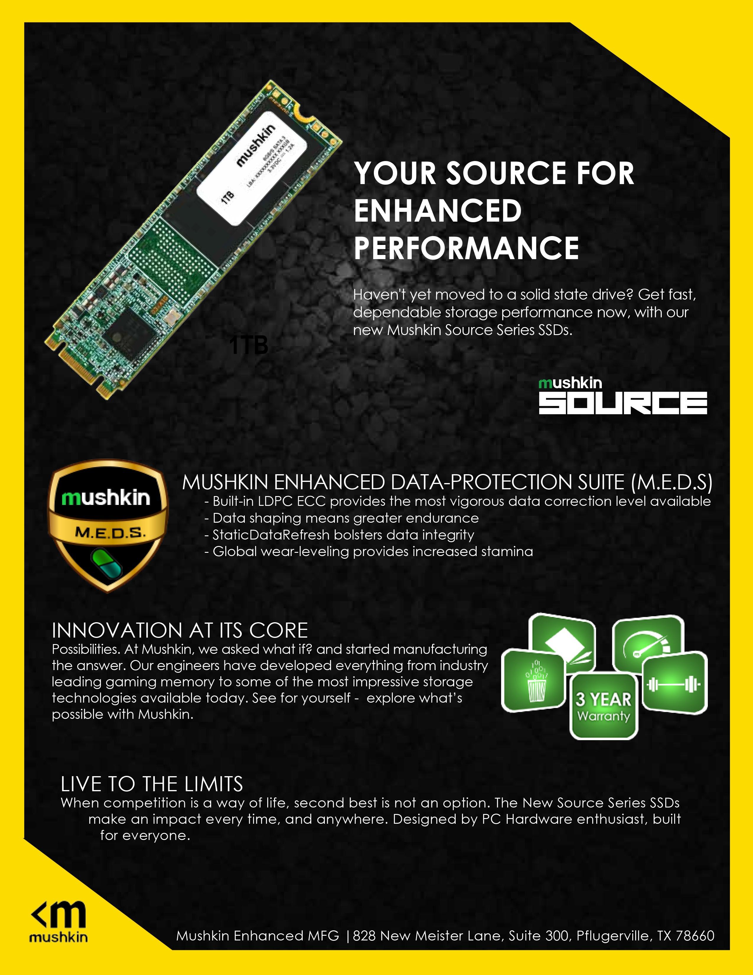 Mushkin Enhanced - Source M 2 250GB -